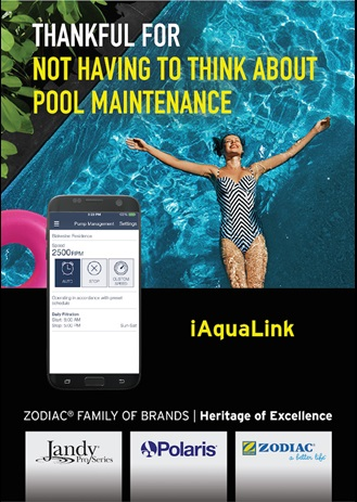 Pool and spa control
