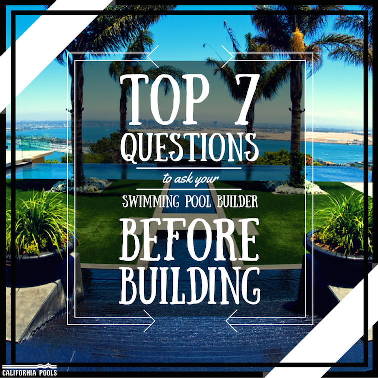 Zodiac blog top 7 questions to ask your swimming pool for Questions to ask a builder