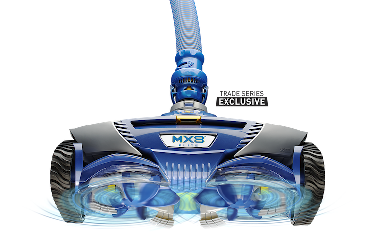 MX8 Elite - Zodiac Suction Cleaner with Cyclonic Scrubbing Action